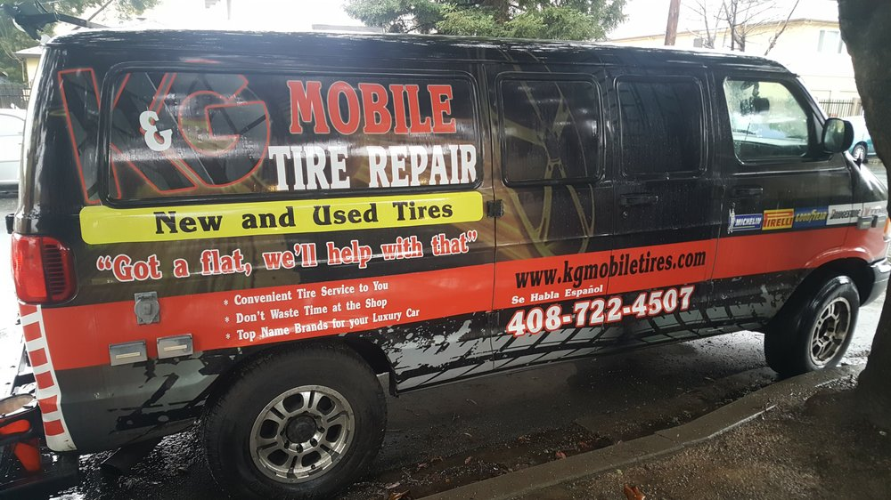 Mobile Tire Service >> K G Mobile Tire Repair