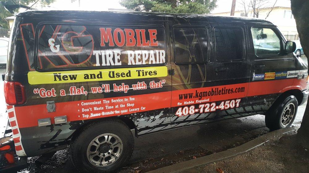 mobile car tire repair service near me